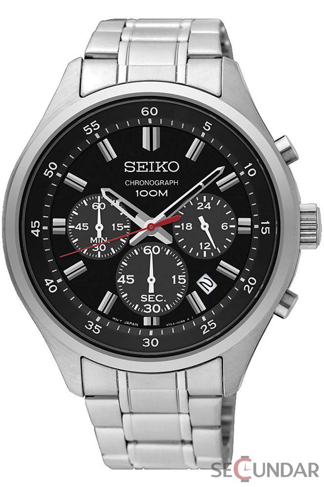 Ceas Seiko Quartz SKS587P1 Barbatesc de Mana Original