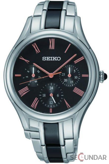 Ceas Seiko Quartz SKY719P1 Barbatesc de Mana Original