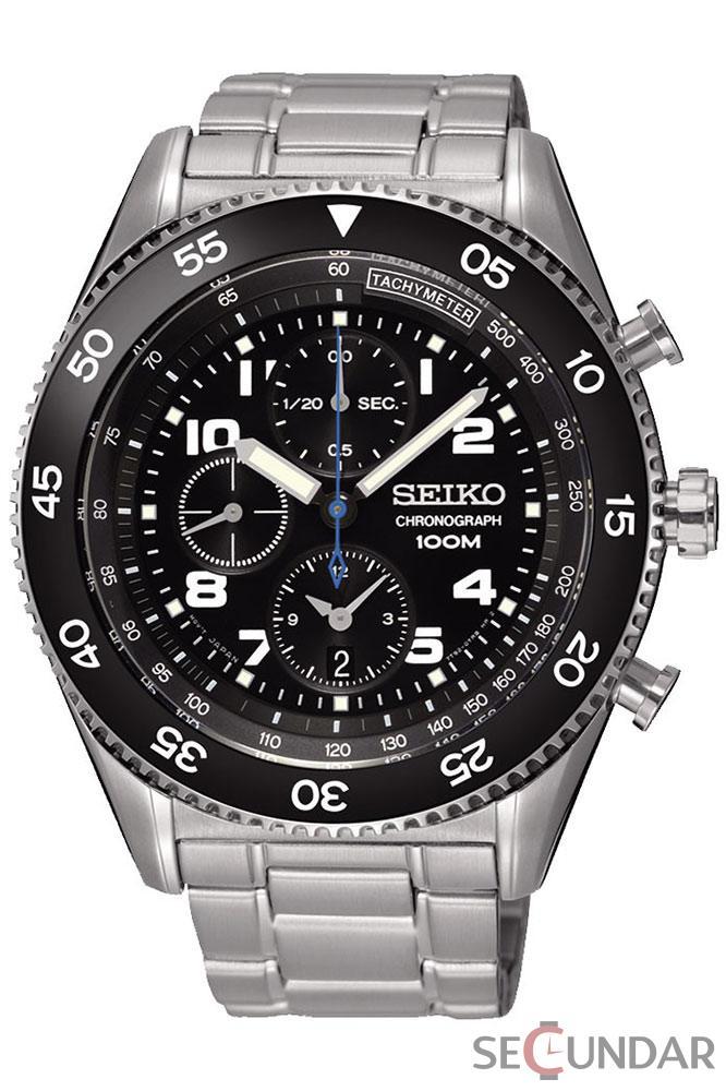 Ceas Seiko SNDG59P1 Cronograf Barbatesc de Mana Original