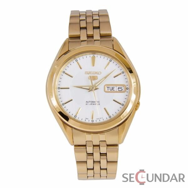 Ceas Seiko SNKL26K1 Two Tone Stainless Steel Analog with Silver Dial Barbatesc de Mana Original
