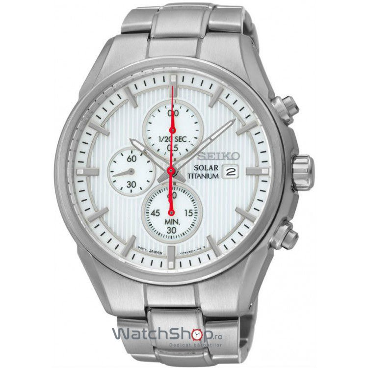 Ceas Seiko SOLAR SSC363P1 Cronograf de mana pentru barbati