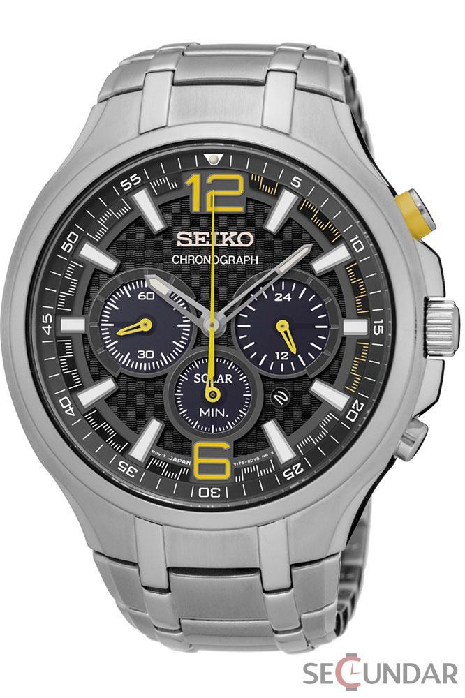 Ceas Seiko Solar SSC449P9 Barbatesc de Mana Original