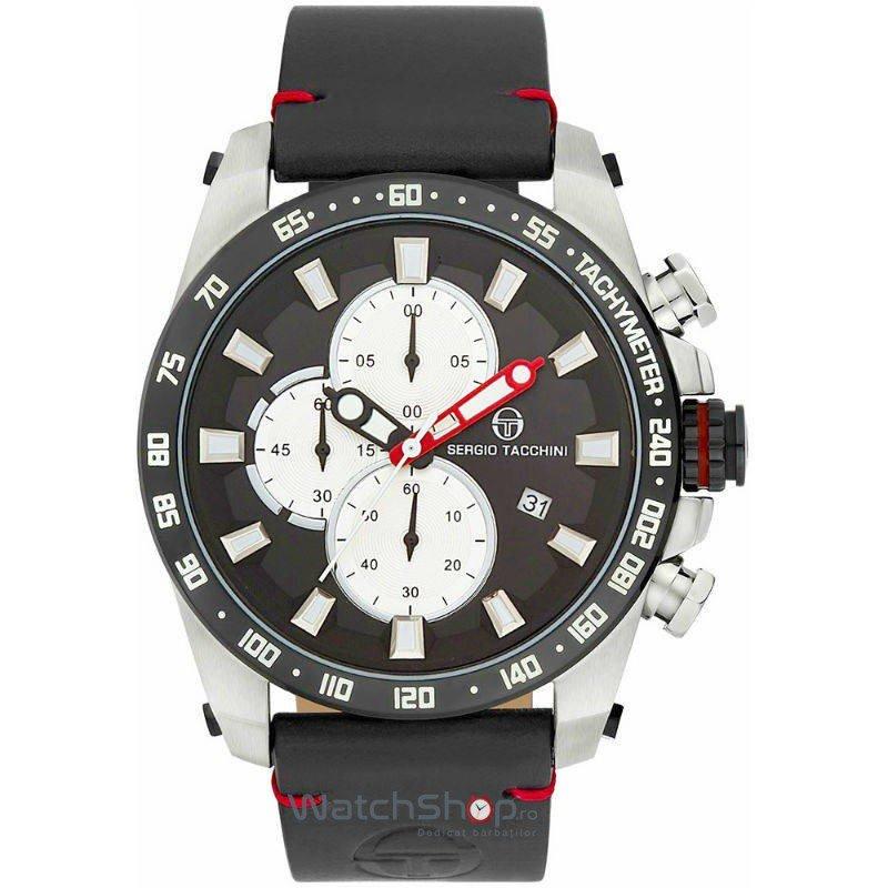 Ceas SergioTacchini ARCHIVIO ST.2.102.04 Cronograf Barbatesc Original de Lux