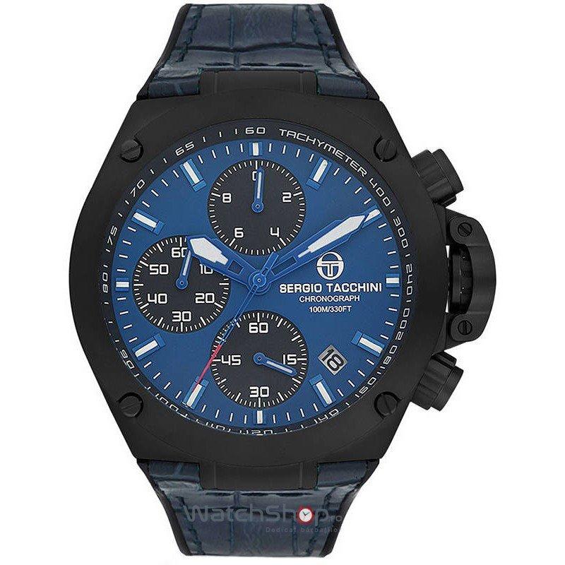 Ceas SergioTacchini HERITECH ST.9.105.04 Cronograf Barbatesc Original de Lux