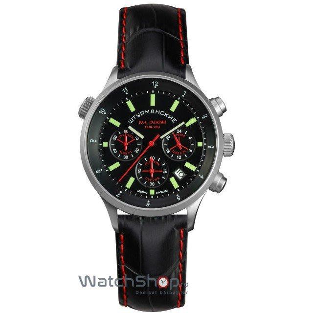 Ceas Sturmanskie Y.A GAGARIN 1961 VD53/4565465 Cronograf Barbatesc Original de Lux