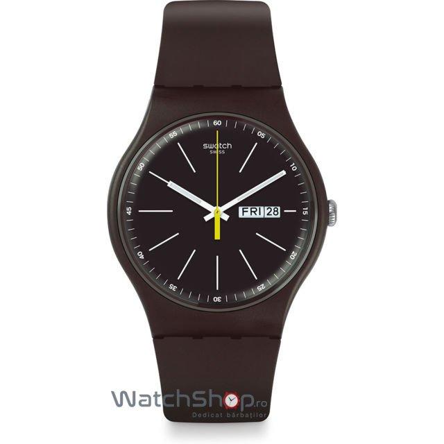 Ceas Swatch ORIGINALS SUOC704 Blue Browny de mana pentru barbati