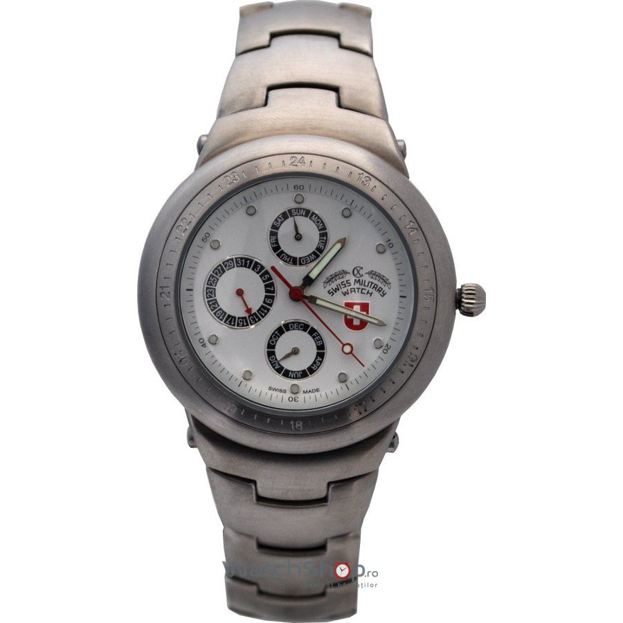Ceas Swiss Military 1690 Barbatesc Original de Lux