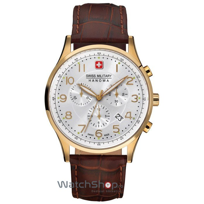 Ceas Swiss Military BY HANOWA 06-4187.02.001 Patriot Barbatesc Original de Lux