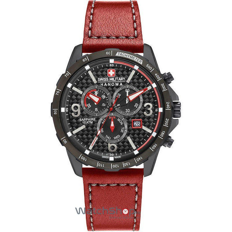 Ceas Swiss Military BY HANOWA 06-4251.13.007 Ace Chrono Barbatesc Original de Lux
