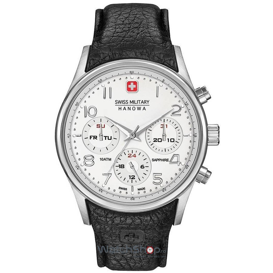 Ceas Swiss Military BY HANOWA 06-4278.04.001.07 Barbatesc Original de Lux