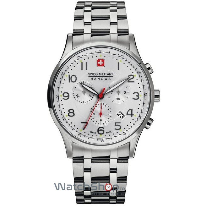 Ceas Swiss Military BY HANOWA 06-5187.04.001 Patriot Barbatesc Original de Lux