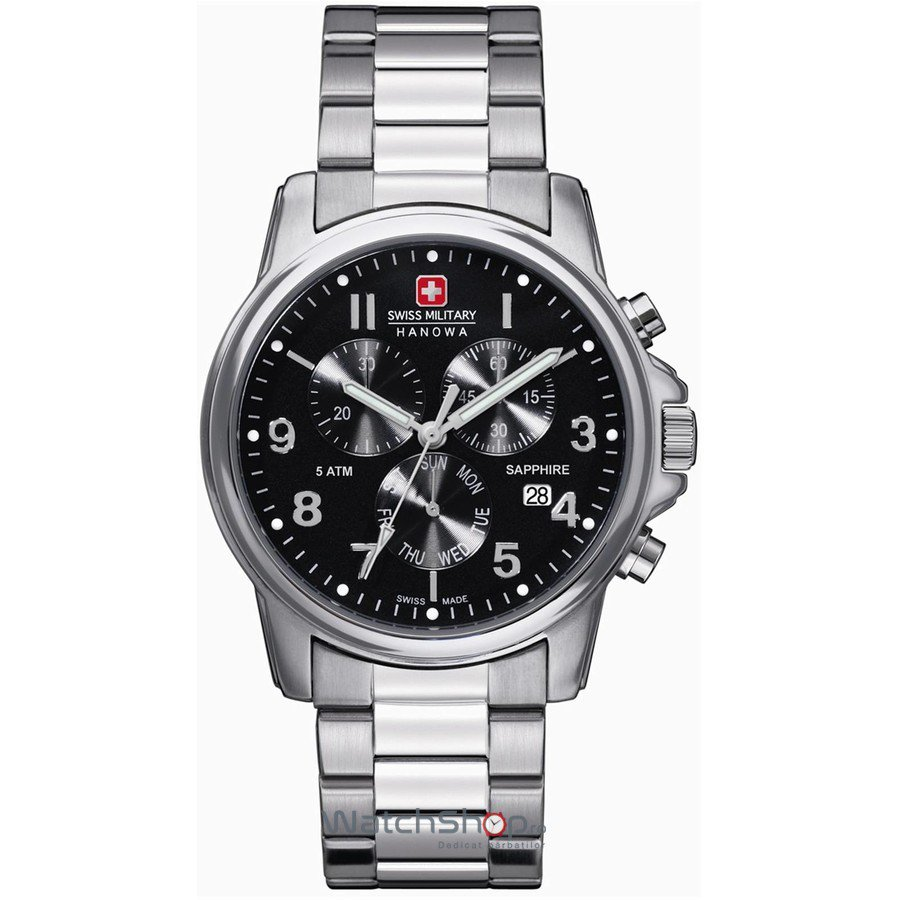 Ceas Swiss Military BY HANOWA 06-5233.04.007 Barbatesc Original de Lux