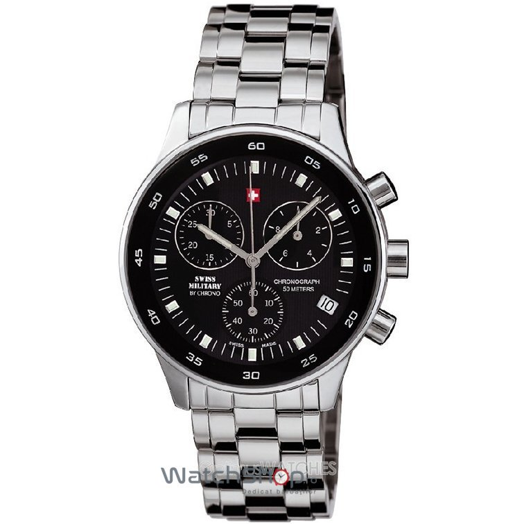 Ceas Swiss Military by CHRONO SM30052.01 Barbatesc Original de Lux