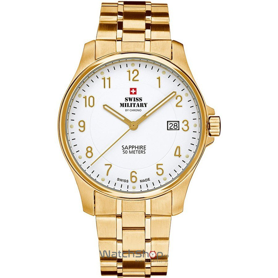 Ceas Swiss Military by CHRONO SM30137.05 Barbatesc Original de Lux