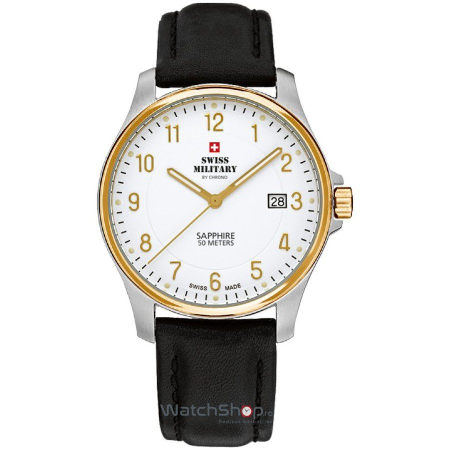 Ceas Swiss Military by CHRONO SM30137.08 Barbatesc Original de Lux