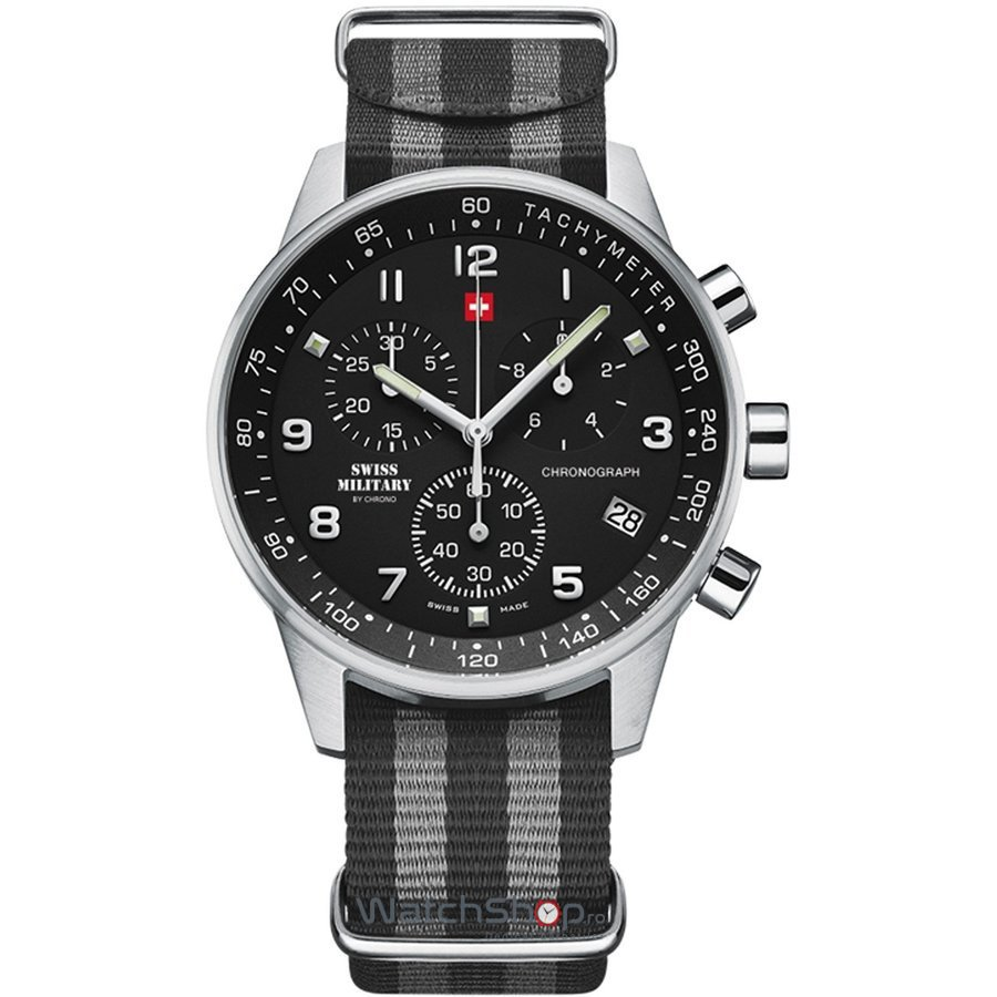 Ceas Swiss Military by CHRONO SM34012.14 Barbatesc Original de Lux