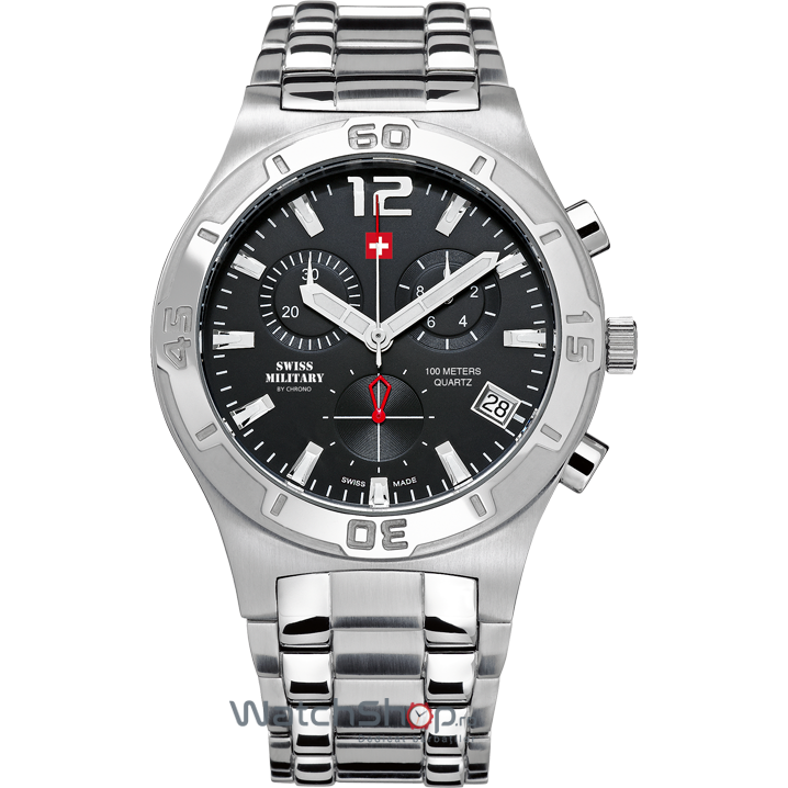 Ceas Swiss Military by CHRONO SM34015.01 Barbatesc Original de Lux