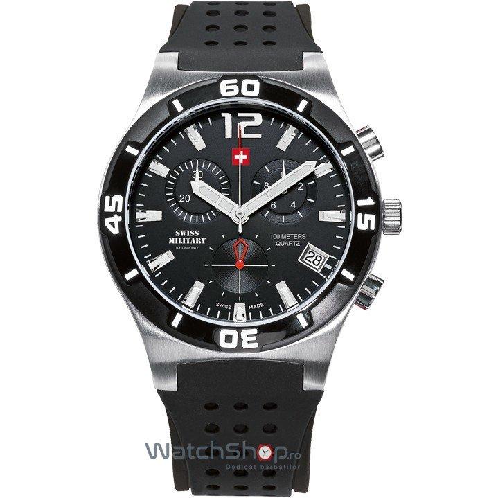 Ceas SwissMilitary by CHRONO SM34015.05 Cronograf Barbatesc Original de Lux