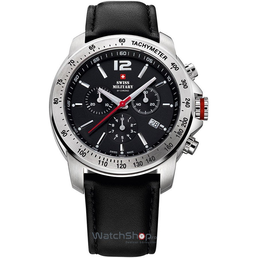 Ceas Swiss Military by CHRONO SM34033.04 Cronograf Barbatesc Original de Lux