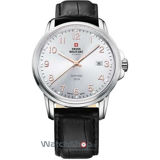 Ceas Swiss Military by CHRONO SM34039.09 Barbatesc Original de Lux
