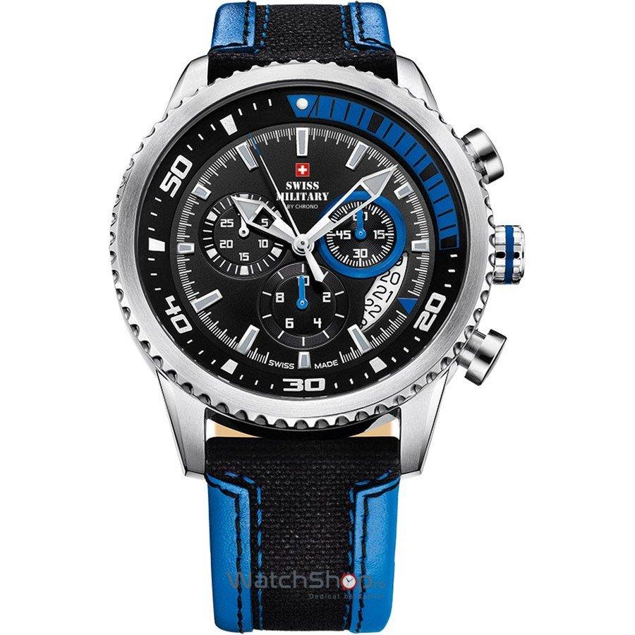 Ceas SwissMilitary by CHRONO SM34042.08 Cronograf Barbatesc Original de Lux