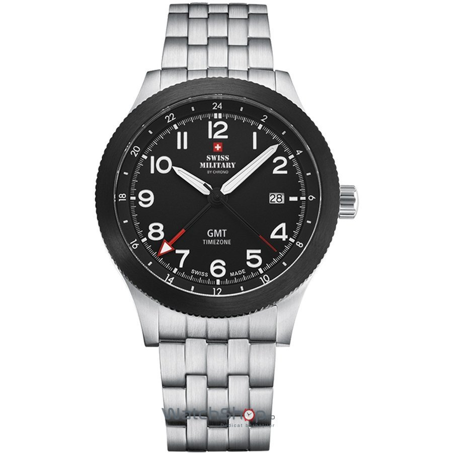 Ceas Swiss Military by CHRONO SM34053.03 Barbatesc Original de Lux