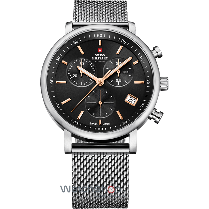 Ceas Swiss Military by CHRONO SM34058.03 Barbatesc Original de Lux