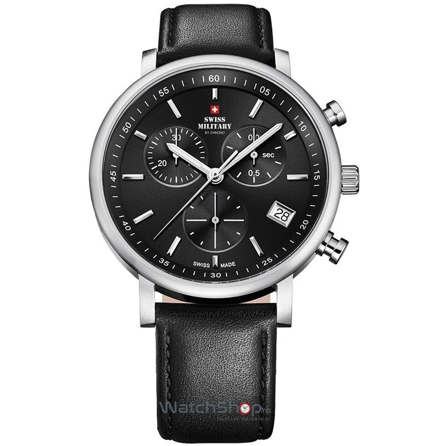 Ceas Swiss Military by CHRONO SM34058.04 Barbatesc Original de Lux