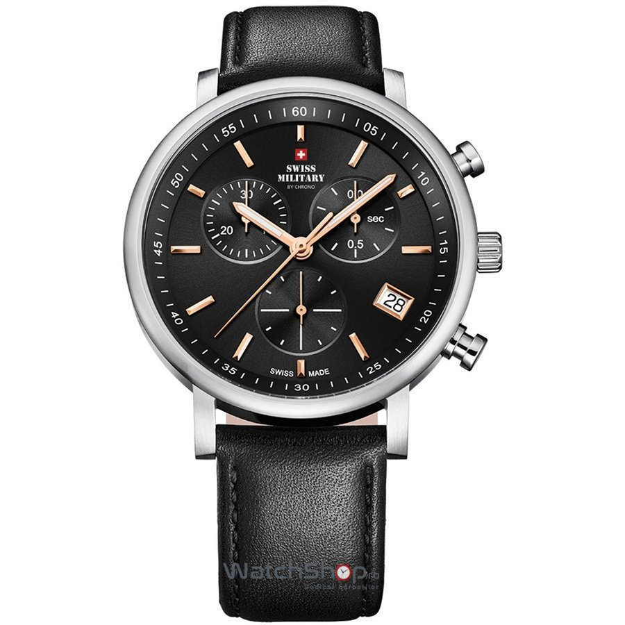 Ceas Swiss Military by CHRONO SM34058.06 Barbatesc Original de Lux