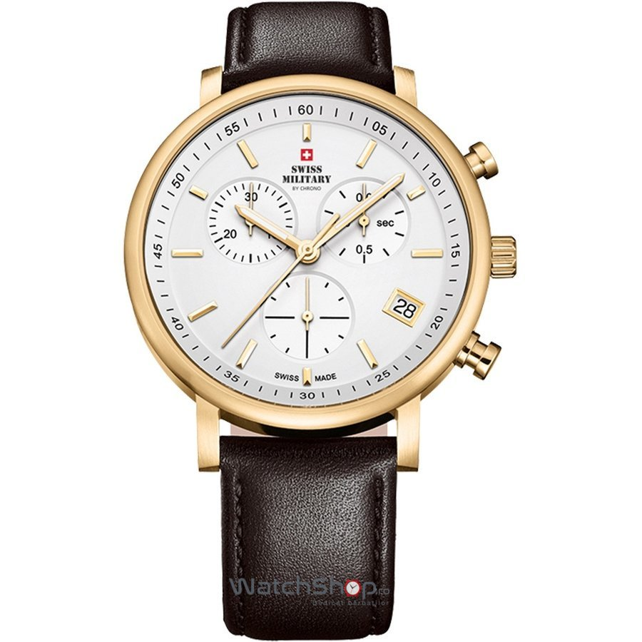 Ceas Swiss Military by CHRONO SM34058.07 Barbatesc Original de Lux
