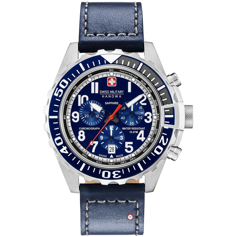 Ceas Swiss Military by HANOWA 06-4304.04.003 Touchdown Chrono Barbatesc Original de Lux