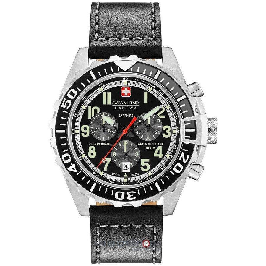 Ceas Swiss Military by HANOWA 06-4304.04.007.07 Touchdown Chrono Barbatesc Original de Lux