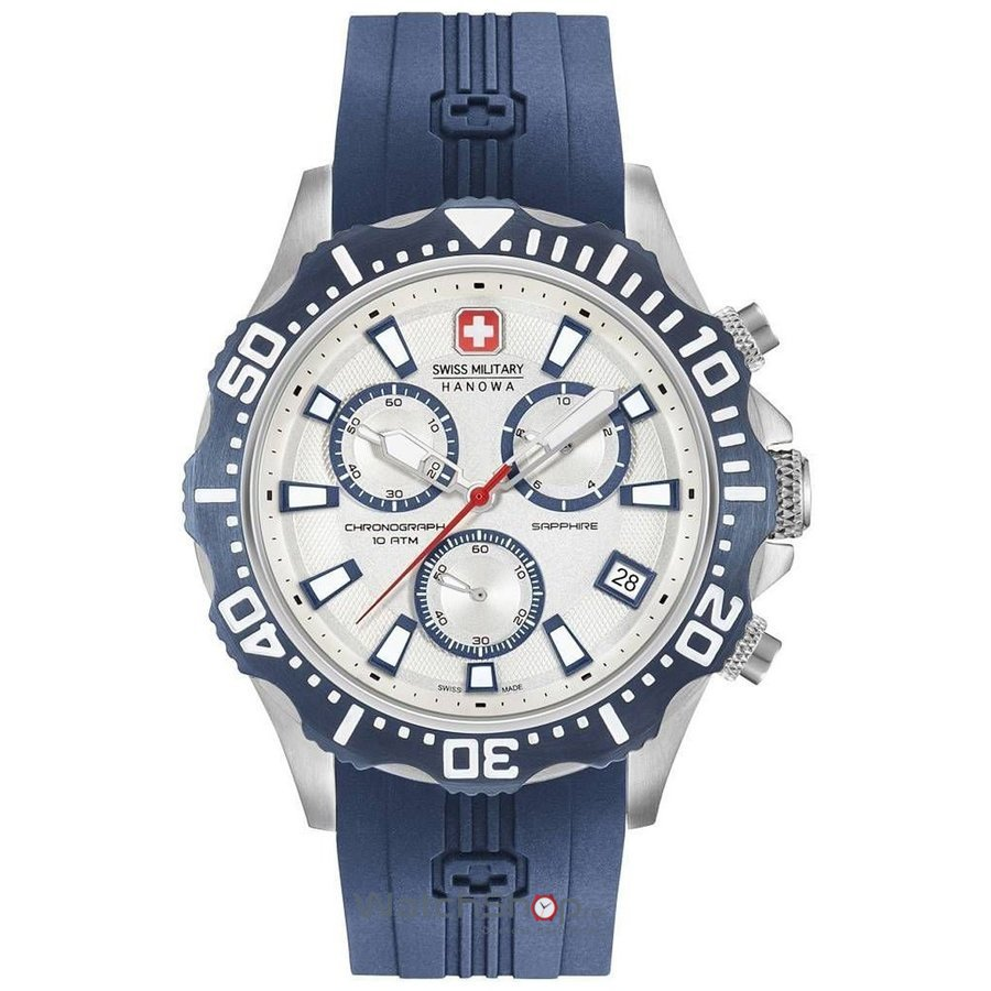 Ceas Swiss Military by HANOWA 06-4305.04.001.03 Patrol Chrono Barbatesc Original de Lux