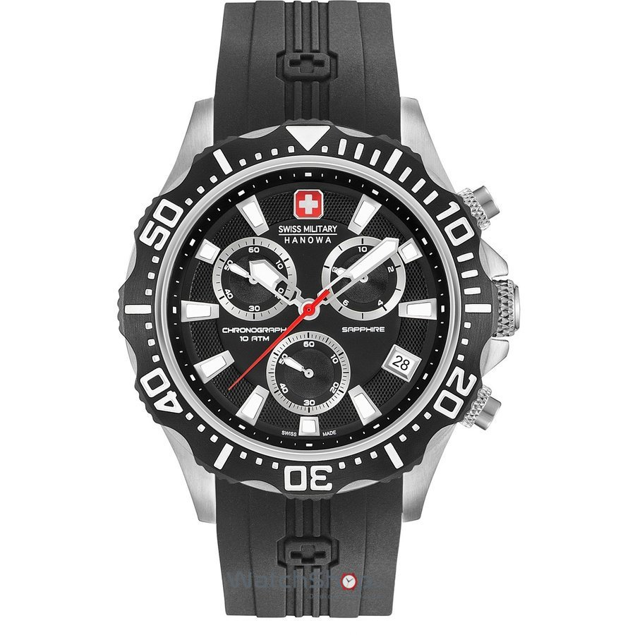 Ceas Swiss Military by HANOWA 06-4305.04.007 Patrol Chrono Barbatesc Original de Lux