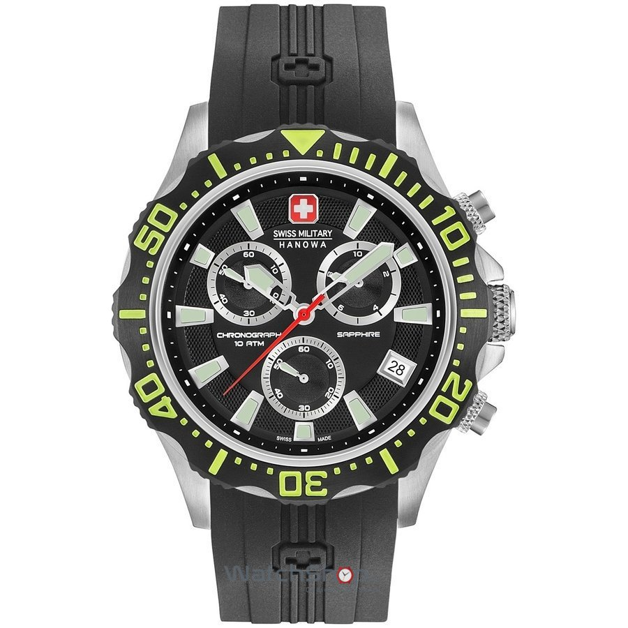 Ceas Swiss Military by HANOWA 06-4305.04.007.06 Patrol Chrono Barbatesc Original de Lux