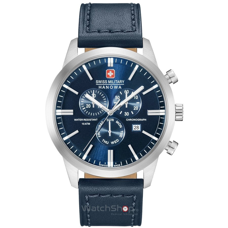Ceas Swiss Military by HANOWA 06-4308.04.003 Classic Chrono Barbatesc Original de Lux