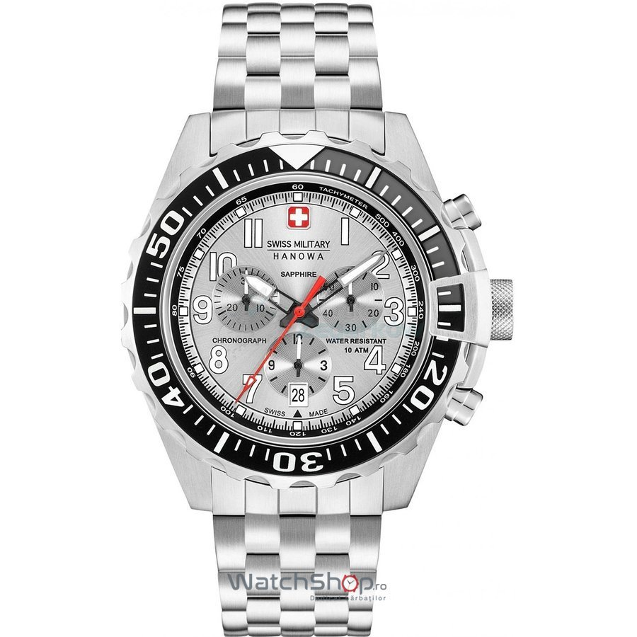 Ceas Swiss Military by HANOWA 06-5304.04.001 Touchdown Chrono Barbatesc Original de Lux