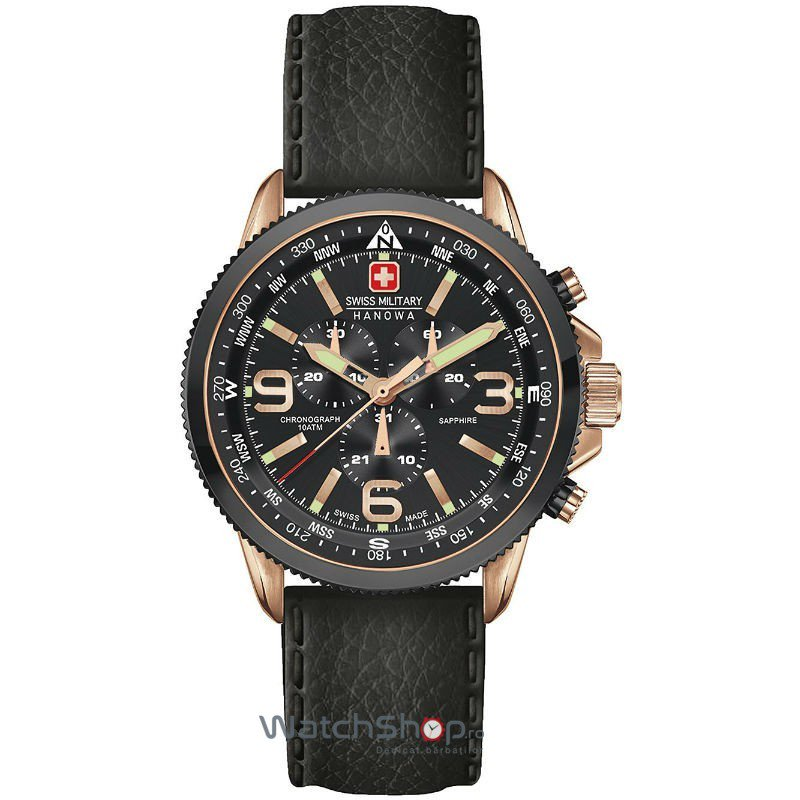 Ceas Swiss Military by HANOWA 6-4224.09.007 Arrow Chrono Barbatesc Original de Lux