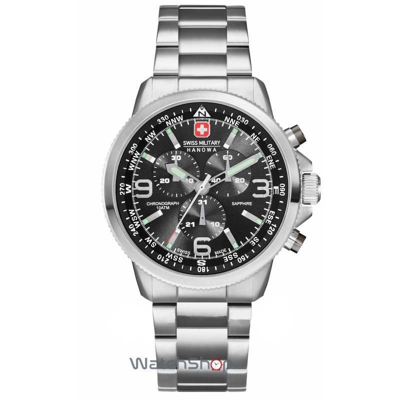 Ceas Swiss Military by Hanowa 06-5250.04.007 Arrow Chrono Barbatesc Original de Lux
