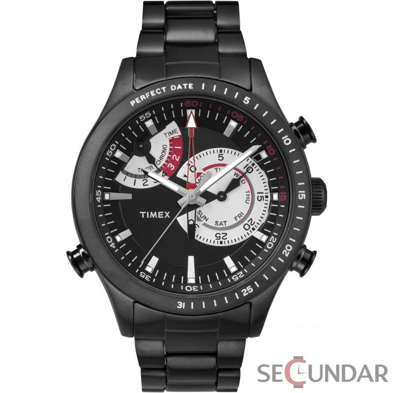 Ceas Timex INTELLIGENT QUARTZ TW2P72800 Chrono Timer Barbatesc de Mana Original