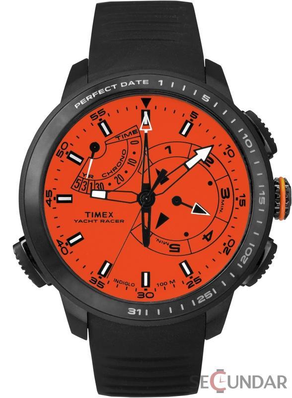 Ceas Timex INTELLIGENT QUARTZ TW2P73100 Chrono Timer Barbatesc de Mana Original
