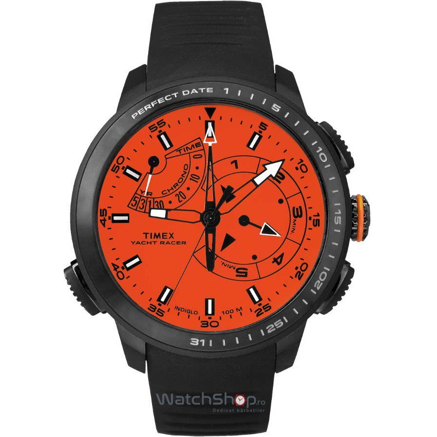 Ceas Timex INTELLIGENT QUARTZ TW2P73100 Yacht Racer Barbatesc Original de Lux