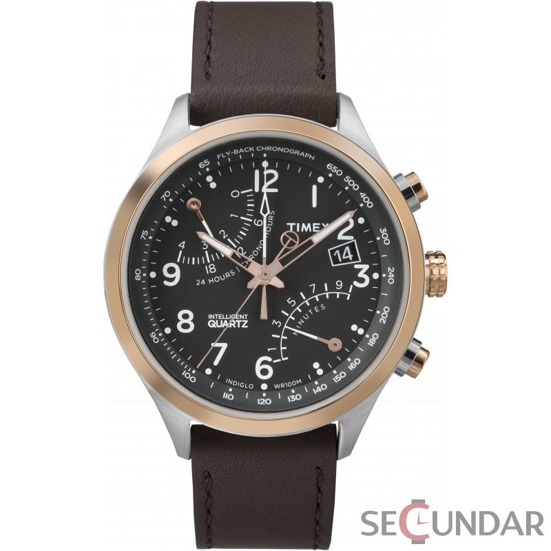 Ceas Timex Intelligent Quartz Fly-Back Chronograph TW2P73400 Barbatesc de Mana Original