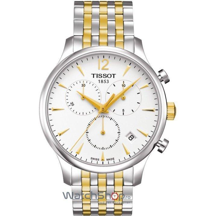 Ceas Tissot T-CLASSIC T063.617.22.037.00 Tradition Cronograf de mana pentru barbati