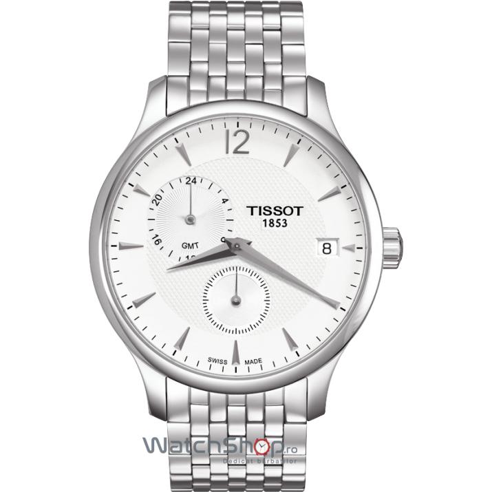 Ceas Tissot T-CLASSIC T063.639.11.037.00 Tradition GMT de mana pentru barbati