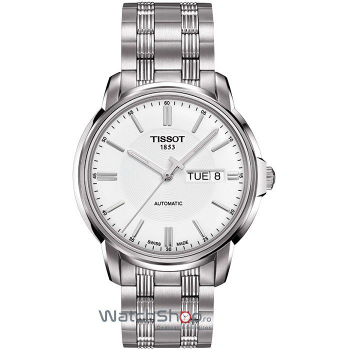 Ceas Tissot T-CLASSIC T065.430.11.031.00 Automatics III de mana pentru barbati