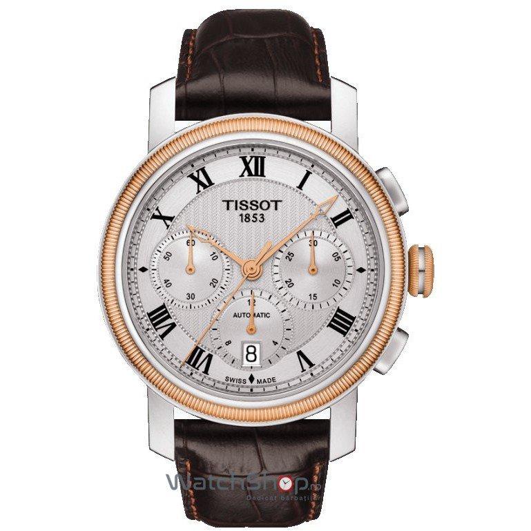 Ceas Tissot T-CLASSIC T097.427.26.033.00 Bridgeport Automatic Cronograf de mana pentru barbati