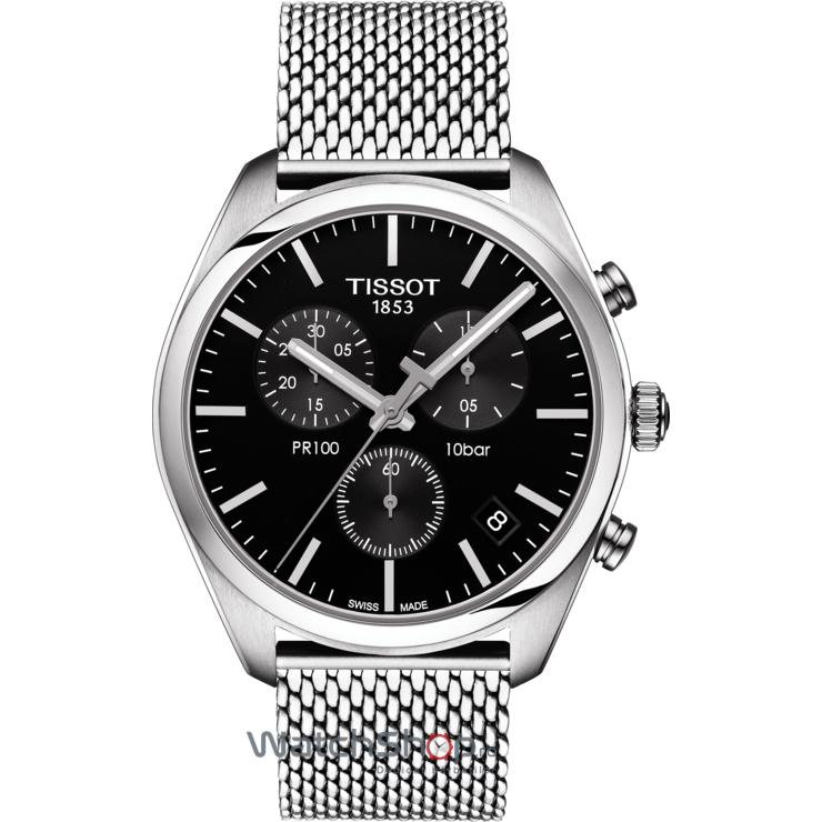 Ceas Tissot T-CLASSIC T101.417.11.051.01 PR 100 Cronograf de mana pentru barbati