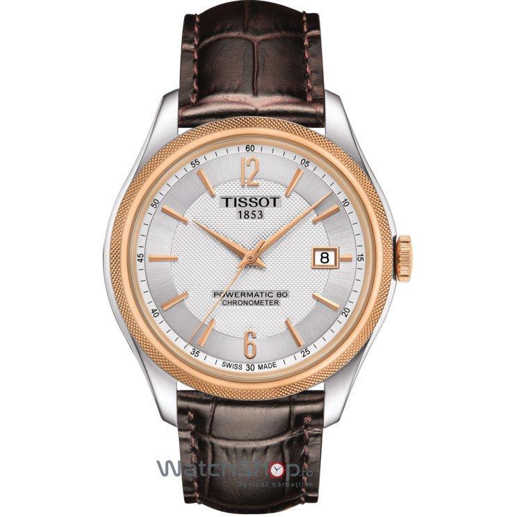 Ceas Tissot T-CLASSIC T108.408.26.037.00 Ballade Powermatic 80 COSC de mana pentru barbati