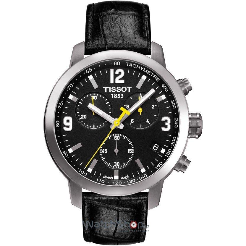Ceas Tissot T-SPORT T055.417.16.057.00 PRC 200 Black de mana pentru barbati